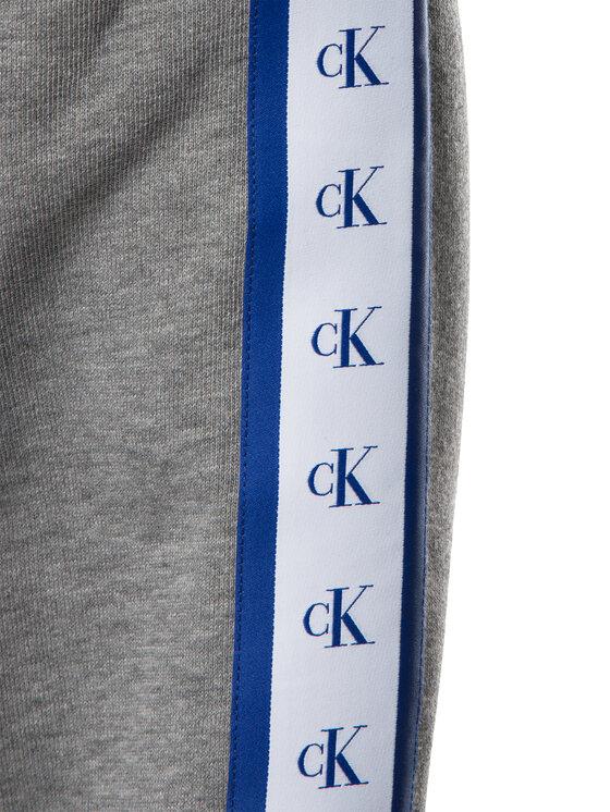 Calvin Klein Jeans Calvin Klein Jeans Μπλούζα Monogram J30J313211 Γκρι Regular Fit