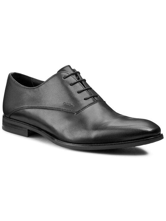 Geox Geox Pantofi U New Life D U44P4D 00043 C9999 Negru