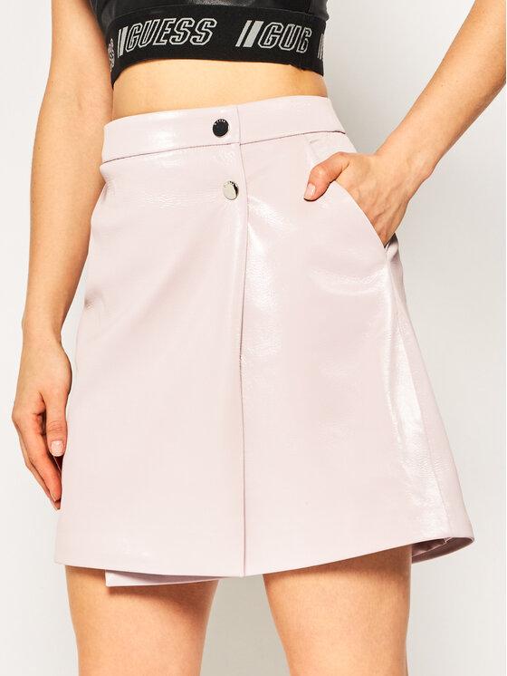 Guess Guess Φούστα σε γραμμή Α Halah W01D20 WCKC0 Ροζ Regular Fit