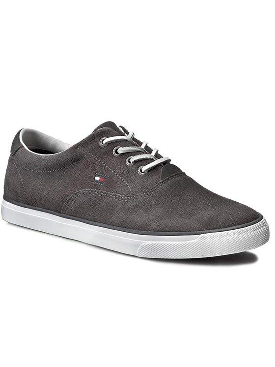 TOMMY HILFIGER TOMMY HILFIGER Sneakersy Wilkes 2B FM56821106 Sivá
