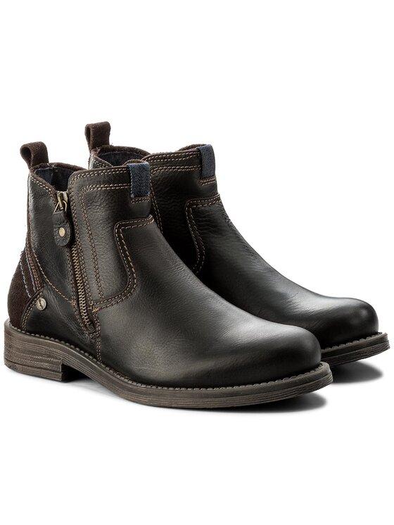 Wrangler Wrangler Μπότες Cliff Zip WM172031 Καφέ