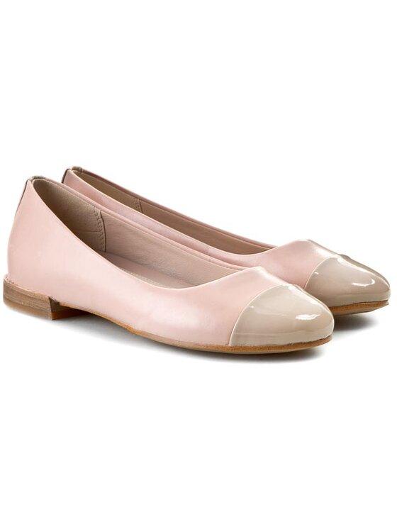 Clarks Clarks Ballerinas Festival Gold 261065014 Rosa