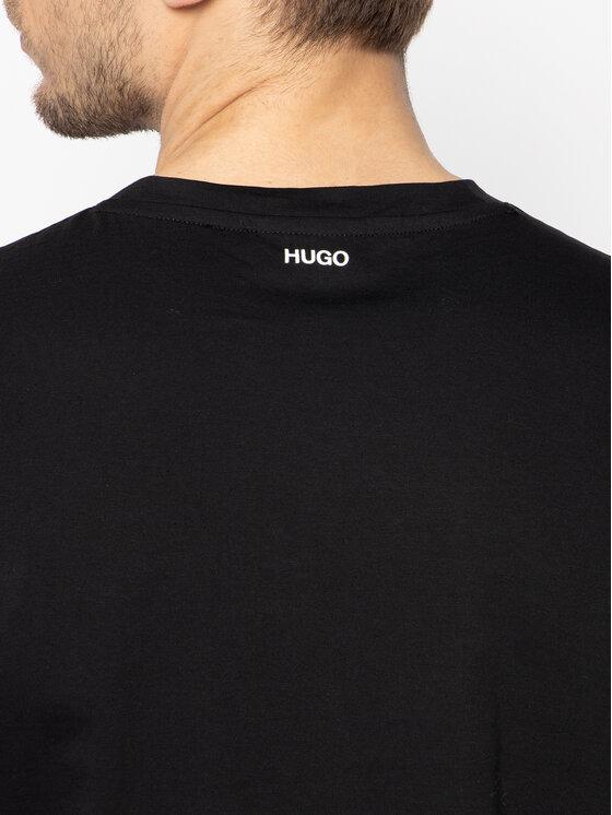 Hugo Hugo Tričko Dours 50428216 Čierna Regular Fit