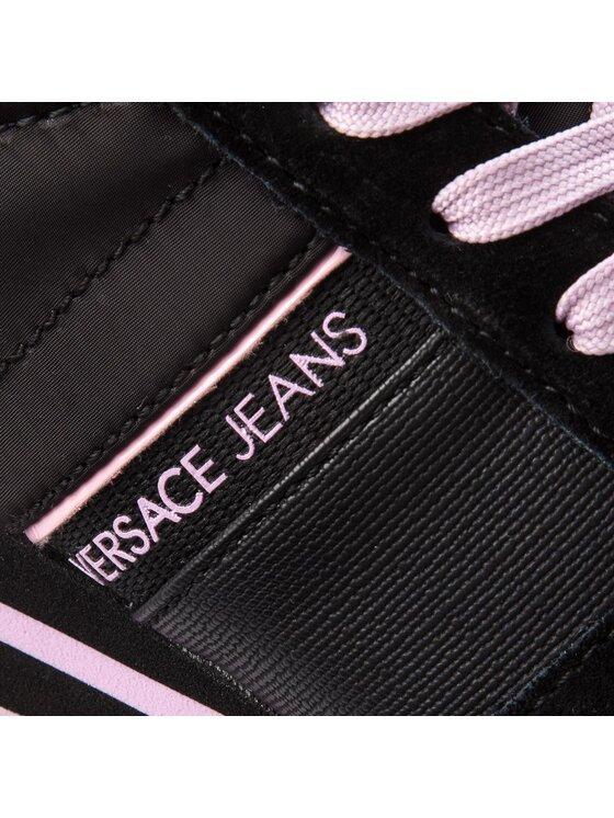 Versace Jeans Versace Jeans Sneakersy E0VSBSA1 Czarny