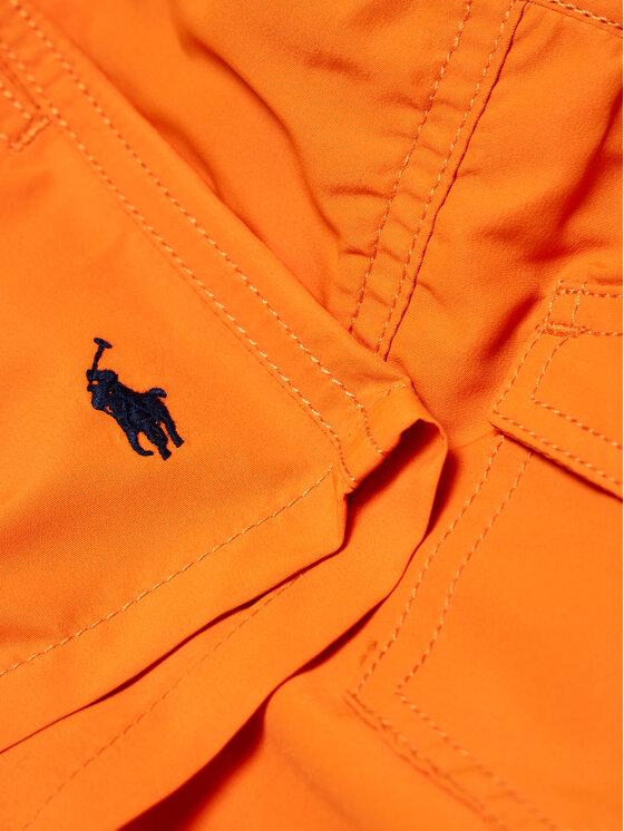 Polo Ralph Lauren Polo Ralph Lauren Szorty kąpielowe Traveler Sho 322785582015 Pomarańczowy Regular Fit