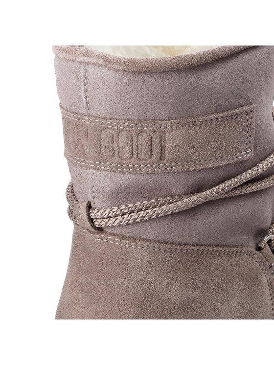 Moon Boot Moon Boot Sniego batai F.Slide Low Suede Gl. 24200200001 Pilka