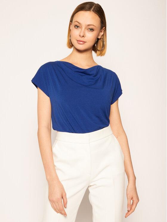 Weekend Max Mara Weekend Max Mara T-shirt Multid 59411301 Bleu marine Regular Fit