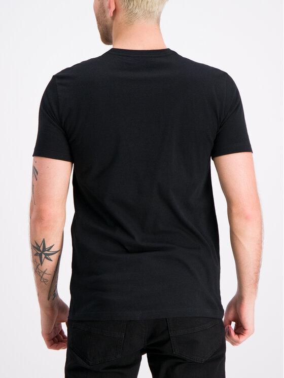 Trussardi Jeans Trussardi Jeans Tričko 52T00219 Čierna Regular Fit