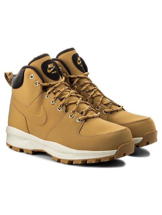 NIKE NIKE Обувки Manoa Leather 454350 700 Кафяв