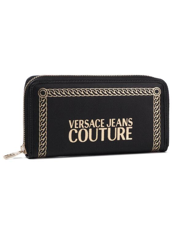 Versace Jeans Couture Versace Jeans Couture Голям дамски портфейл E3VUBPT1 Черен