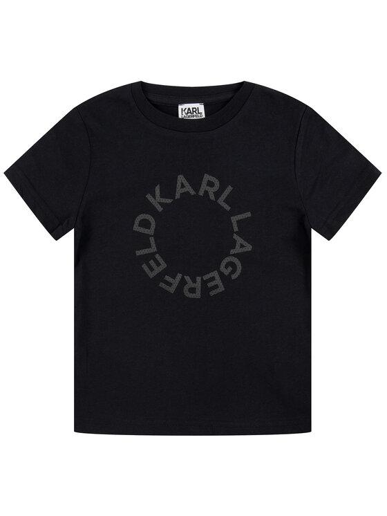 KARL LAGERFELD KARL LAGERFELD T-Shirt Z25203 Μαύρο Regular Fit