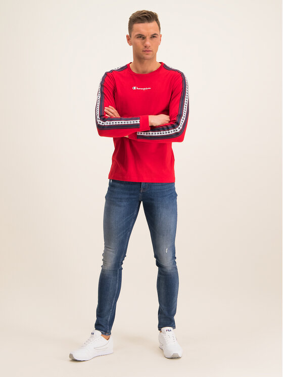 Champion Champion Longsleeve 213460 Czerwony Regular Fit