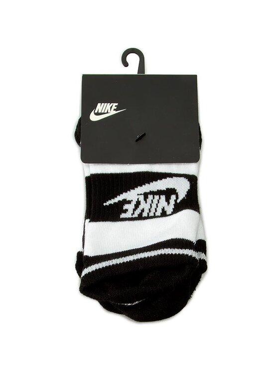 Nike Nike Zestaw 3 par niskich skarpet unisex SX5446 901 Biały