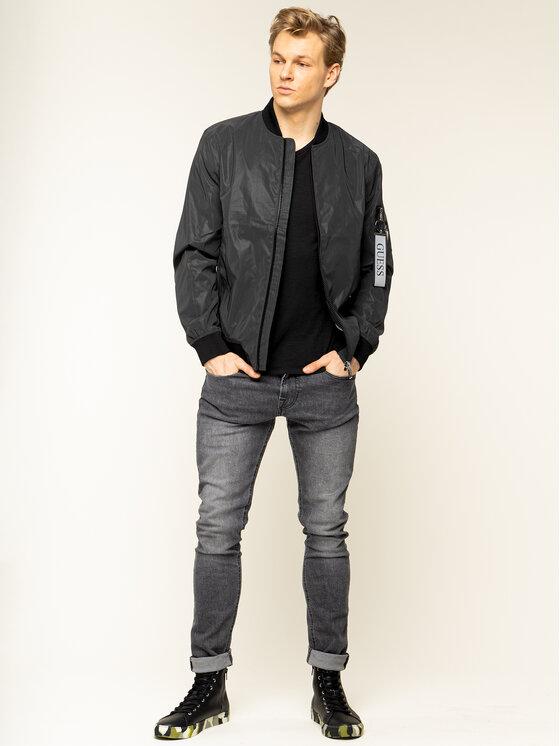 Guess Guess T-Shirt M01I50 K6XN0 Czarny Slim Fit