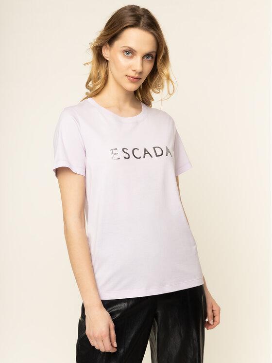 Escada Sport Marškinėliai Eleza 5031118 Rožinė Regular Fit