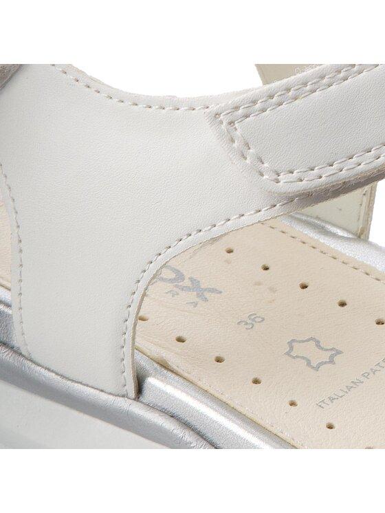 Geox Geox Sandalen J Sand.Sukie G.C J720VC 011BC C1000 D Weiß