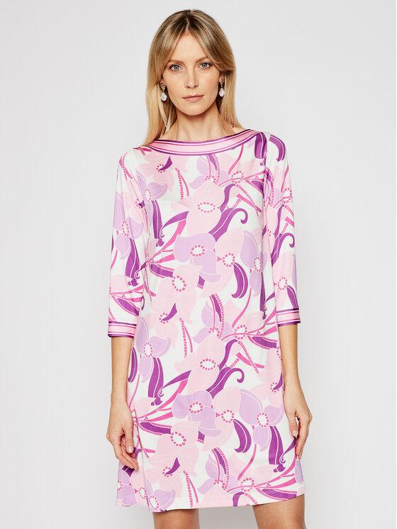 Luisa Spagnoli Kasdieninė suknelė Pearl 537989 Rožinė Regular Fit