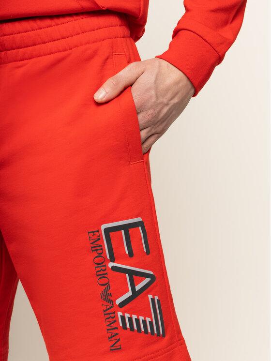 EA7 Emporio Armani EA7 Emporio Armani Αθλητικό σορτς 3HPS73 PJ05Z 1451 Κόκκινο Regular Fit