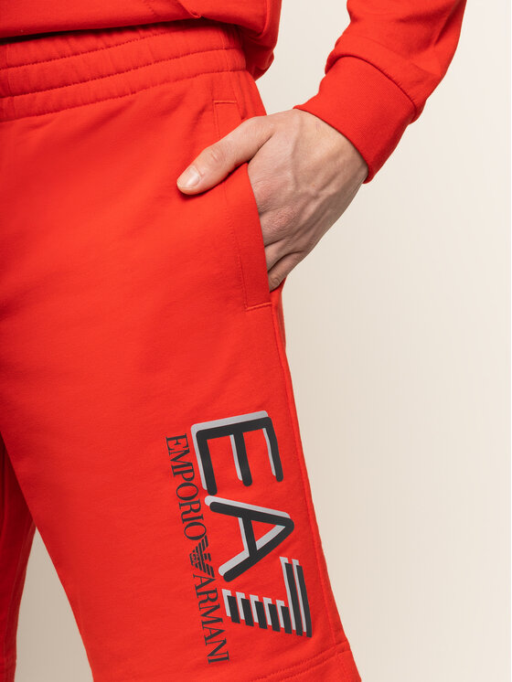 EA7 Emporio Armani EA7 Emporio Armani Sport rövidnadrág 3HPS73 PJ05Z 1451 Piros Regular Fit