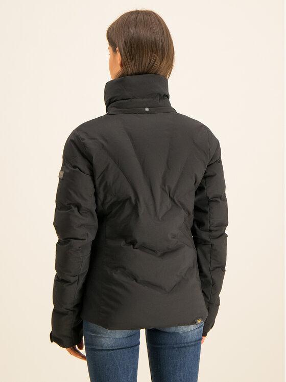 Roxy Roxy Kurtka narciarska Snowstorm Plus ERJTJ03240 Czarny Slim Fit
