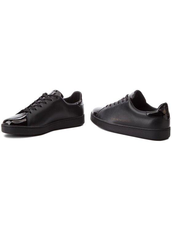Emporio Armani Emporio Armani Sneakersy X3X061 XL514 K001 Czarny