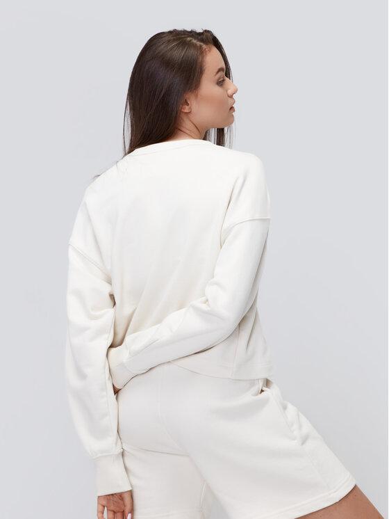 Sprandi Sprandi Bluza AW21-BLD009 Biały Relaxed Fit