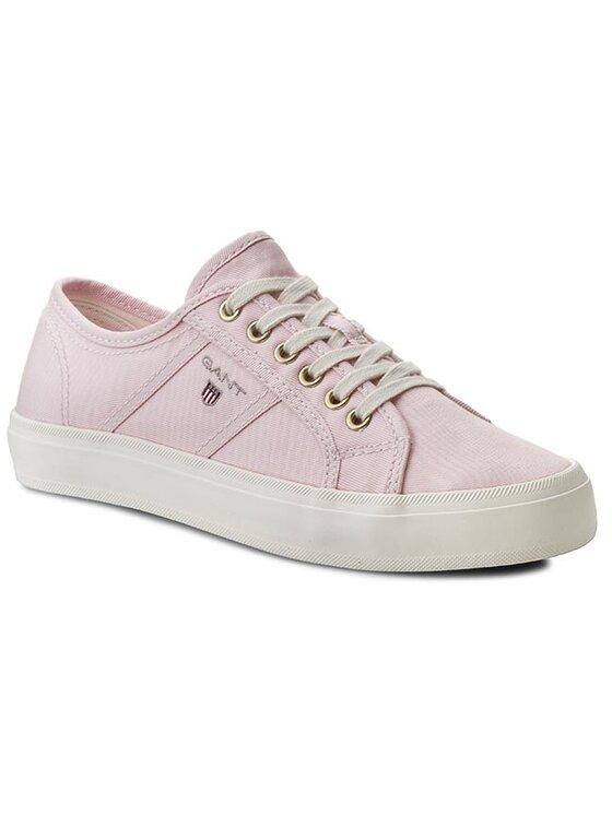 Gant Gant Tenisówki Zoe 12538156 Różowy