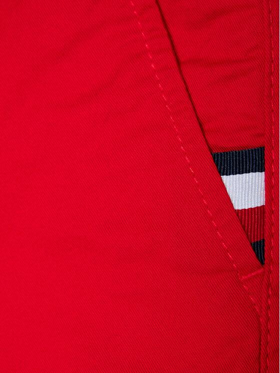 Tommy Hilfiger Tommy Hilfiger Szorty materiałowe Essential Chino KB0KB06322 M Czerwony Slim Fit