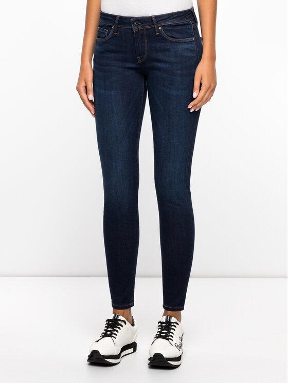 Pepe Jeans Pepe Jeans Jeansy Slim Fit PL201073DB20 Tmavomodrá Slim Fit
