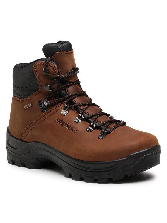 Alpina Turistiniai batai Tundra 6931-2 Ruda