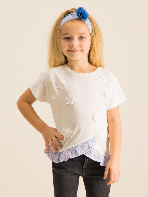 Primigi Primigi T-Shirt Free Spirt 43222531 Weiß Regular Fit