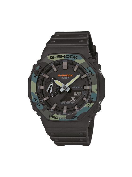 G-Shock Laikrodis GA-2100SU-1AER Juoda