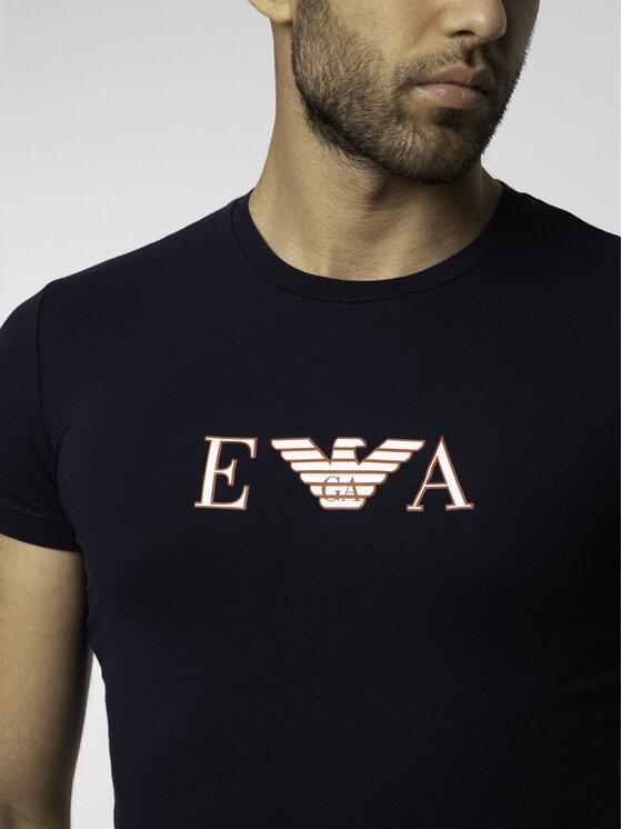 Emporio Armani Underwear Emporio Armani Underwear T-Shirt 111035 9P523 00135 Granatowy Regular Fit