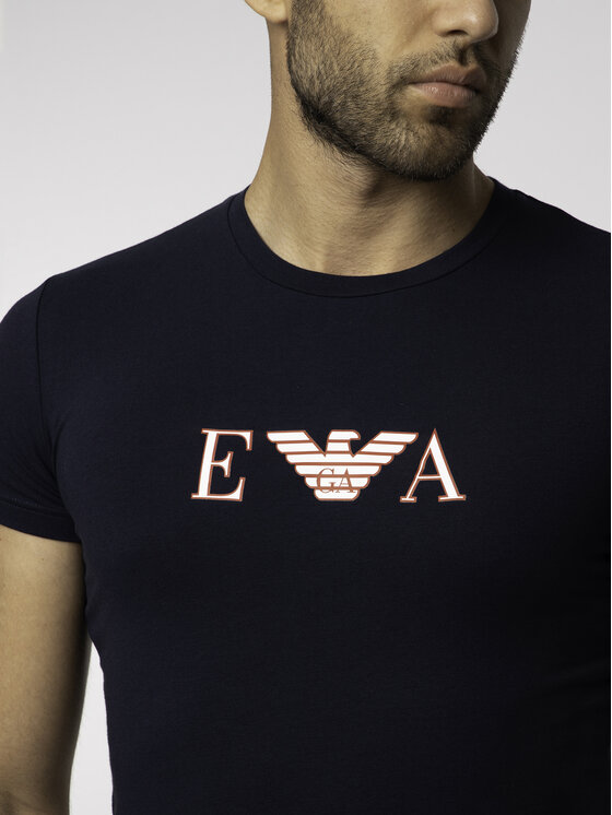 Emporio Armani Underwear Emporio Armani Underwear T-Shirt 111035 9P523 00135 Σκούρο μπλε Regular Fit