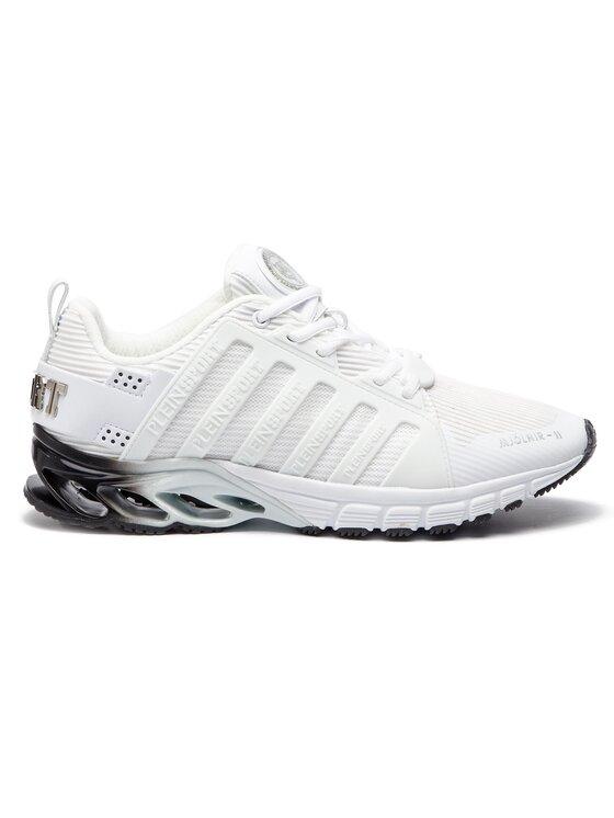 Plein Sport Plein Sport Sneakersy Runner Original A18S MSC1723 STE003N Biela