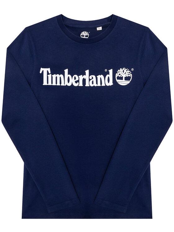 Timberland Timberland Bluzka T25R61 S Granatowy Regular Fit
