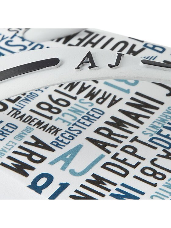 Armani Jeans Armani Jeans Σαγιονάρες C6561 56 10 Λευκό