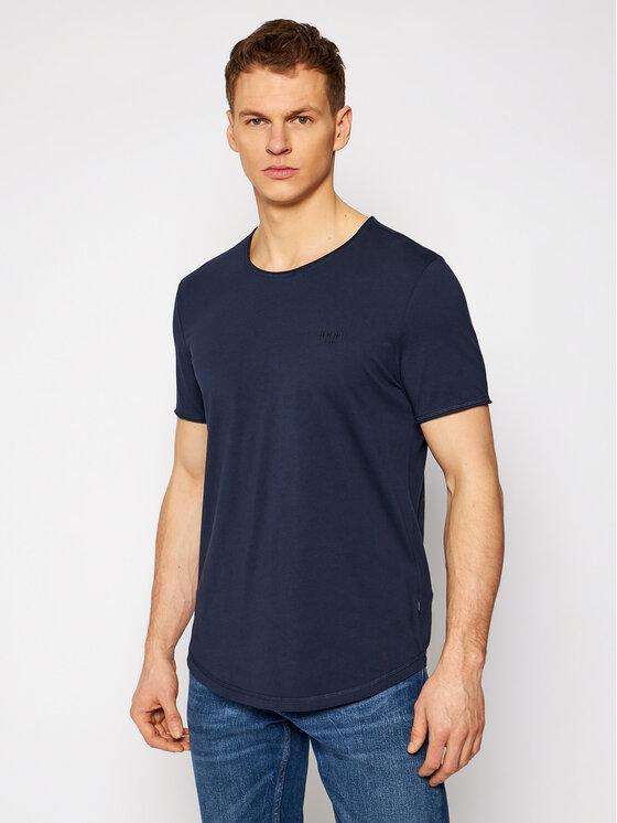 Joop! Jeans Marškinėliai 15 Jjj-05Cliff 30021899 Tamsiai mėlyna Modern Fit