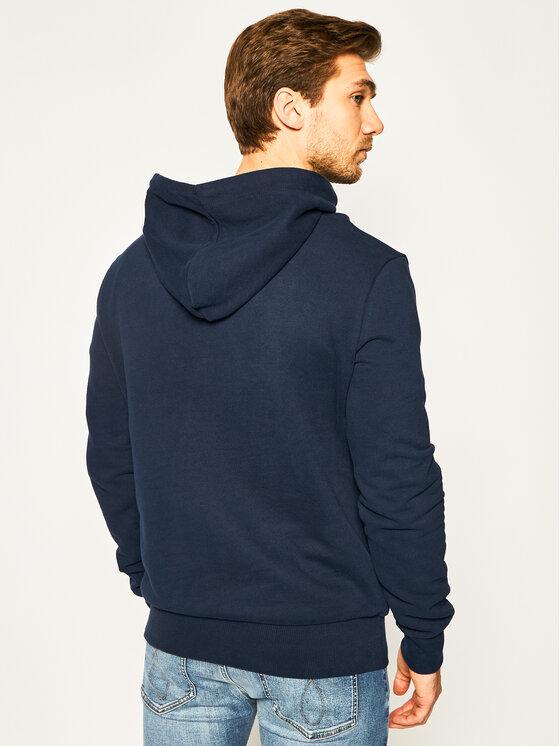 Superdry Superdry Μπλούζα Super 5 Hood M2010109B Σκούρο μπλε Regular Fit