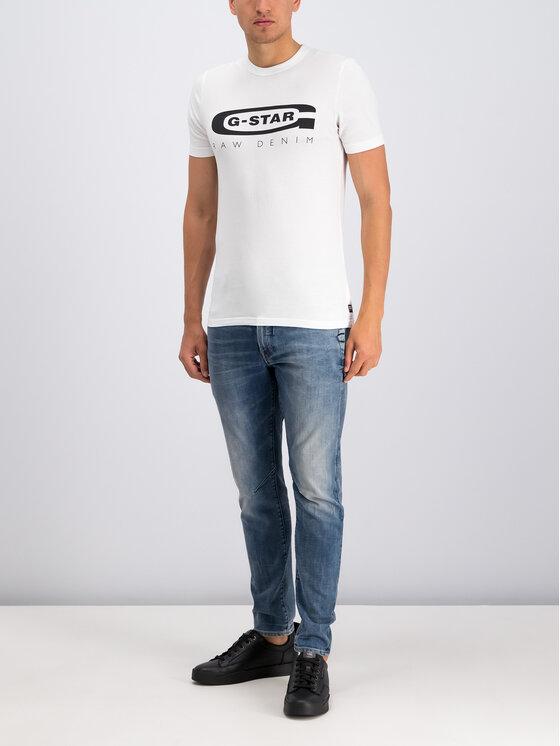 G-Star RAW G-Star RAW Marškinėliai D15104-336-110 Balta Regular Fit