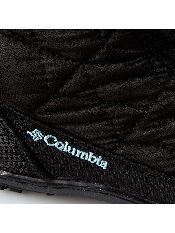 Columbia Columbia Śniegowce Youth Minx Mid II Waterproof BY 1313 Czarny