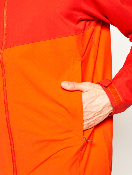 Salomon Salomon Neperšlampanti striukė Salomon La Cote Flex 2.5L LC1275400 Oranžinė Regular Fit