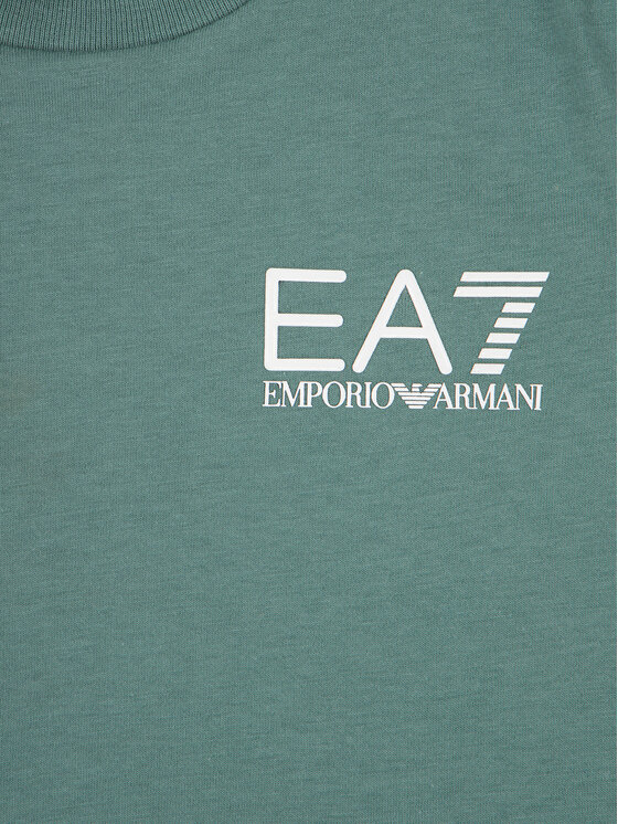 EA7 Emporio Armani EA7 Emporio Armani Póló 3HBT51 BJ02Z 1858 Zöld Regular Fit
