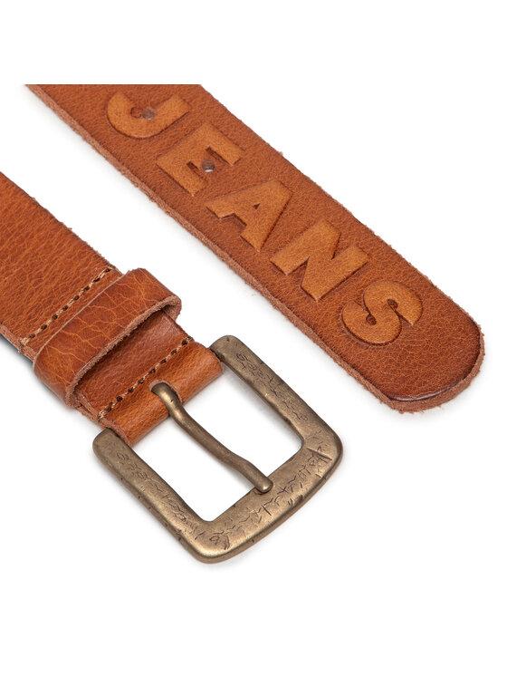 Pepe Jeans Pepe Jeans Pasek Męski Lena Belt PL020797 Brązowy