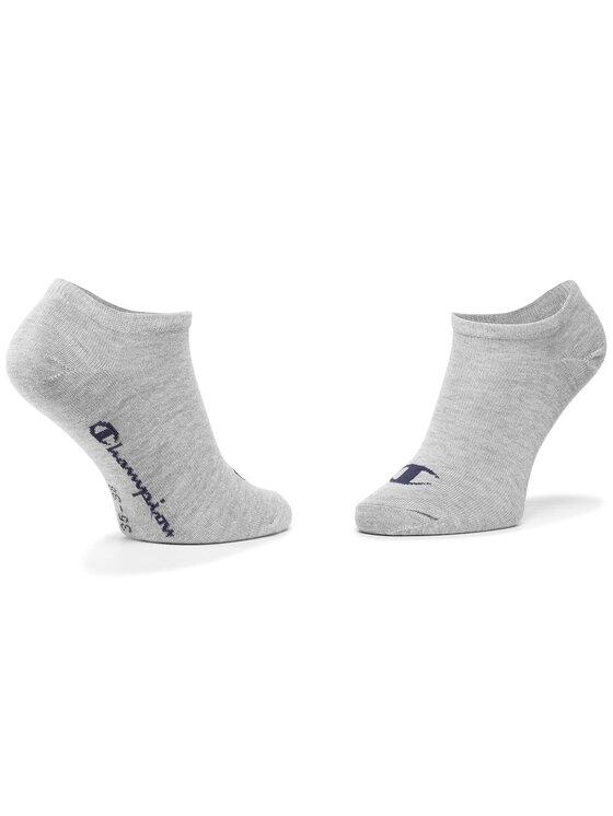 Champion Champion Súprava 3 párov kotníkových ponožiek unisex CH0008QI 8WU Biela