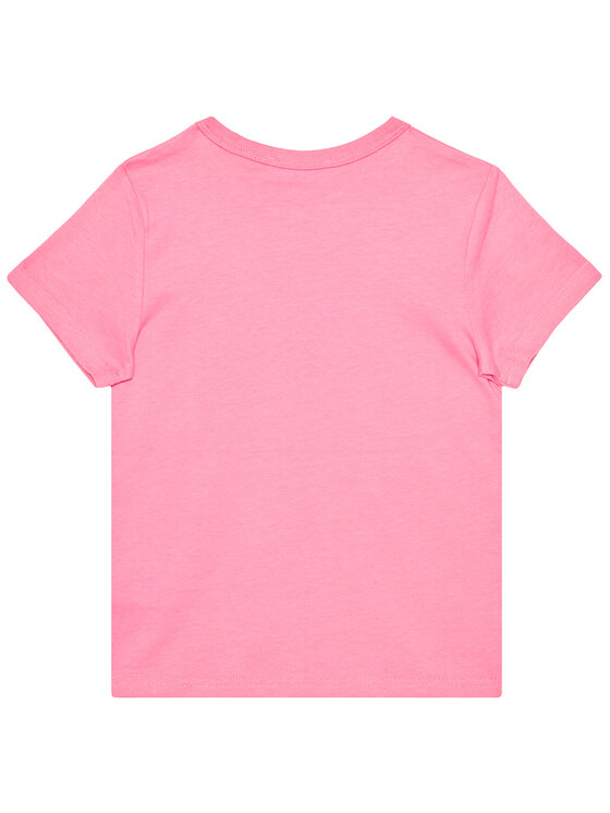 Little Marc Jacobs Little Marc Jacobs T-Shirt W15510 S Różowy Regular Fit