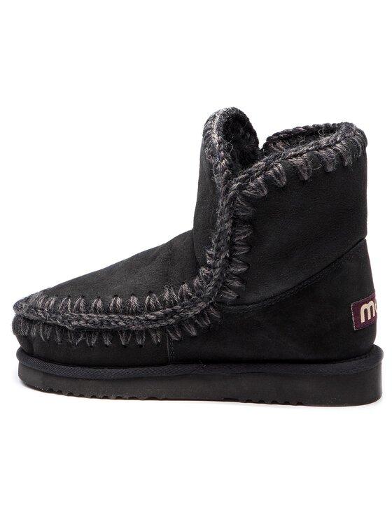 Mou Mou Boty Eskimo18 Černá