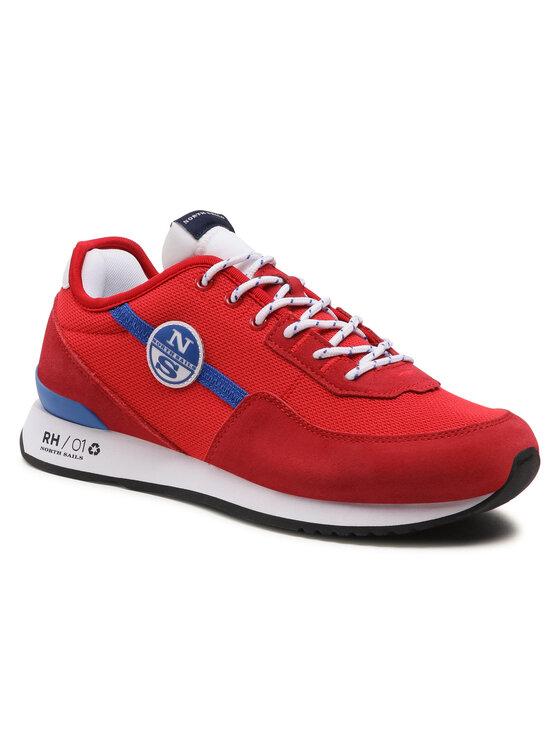 North Sails Laisvalaikio batai RH/01 Recy -056 Raudona