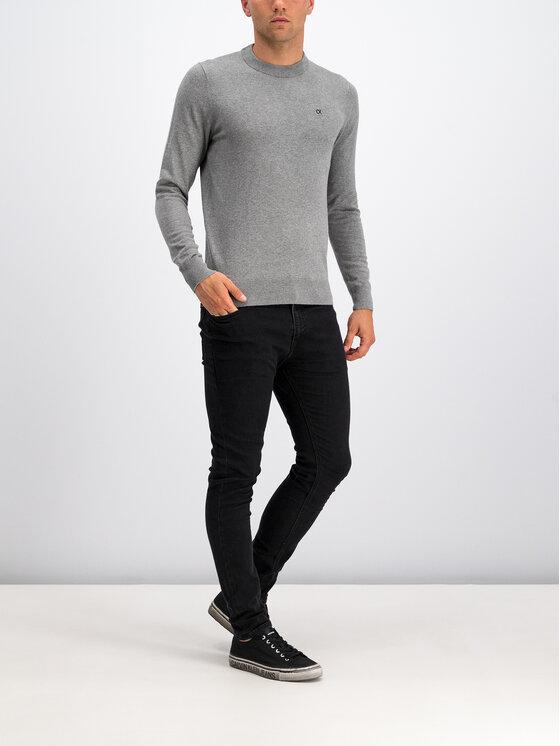 Calvin Klein Jeans Calvin Klein Jeans Sweter Embro J30J313159 Szary Regular Fit