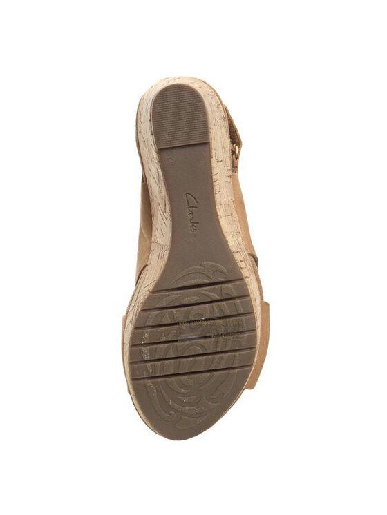 Clarks Clarks Sandále Perfect Music 203582244 Hnedá